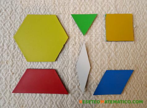 Piezas de los Pattern Blocks