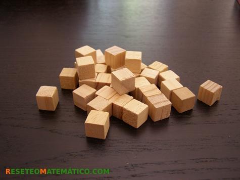 Proyecto Matemáticas Manipulativos Volumen. Regletas unidad o unidades de base 10.