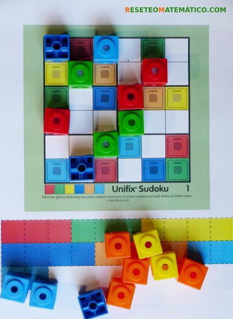 Sudoku con Policubos