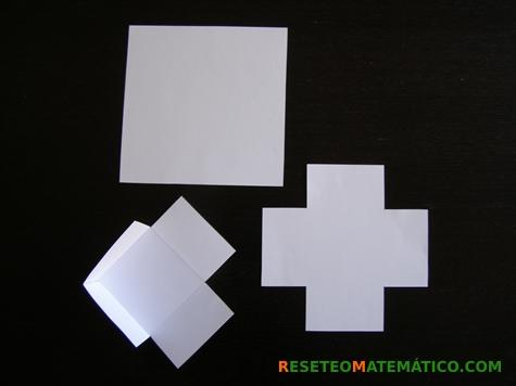 Proyecto Matemáticas Manipulativos Volumen. Etapas del montaje de la caja.